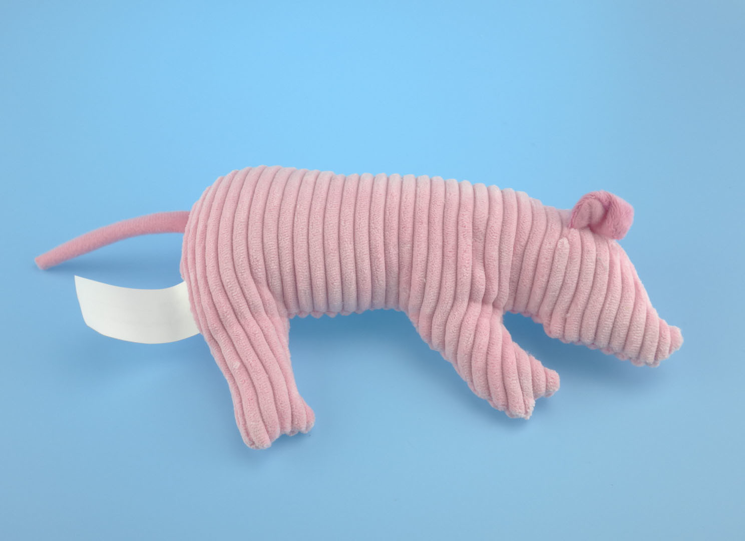 Plush Pig Pet Toy with Squeaker