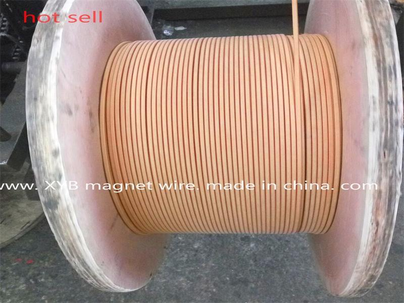 Double Glass Silk Wrapped Round Copper Wire