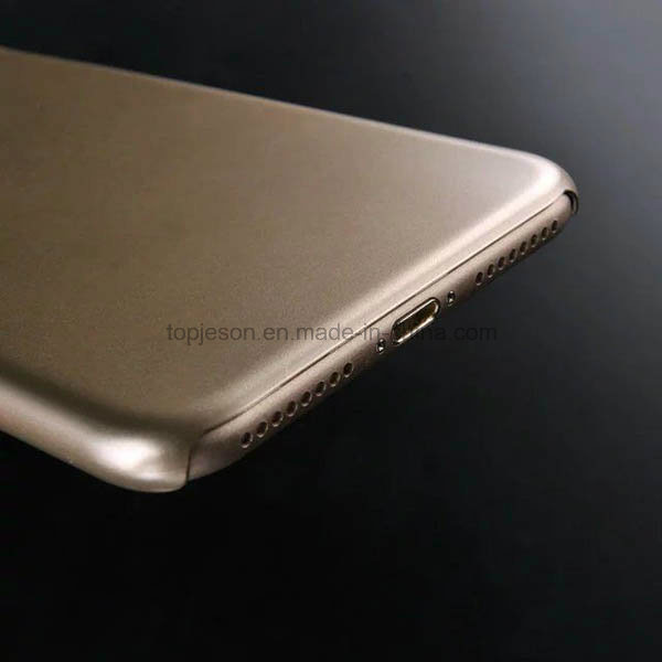 New Arrival Metallic Spray Paint PC Case for iPhone 7