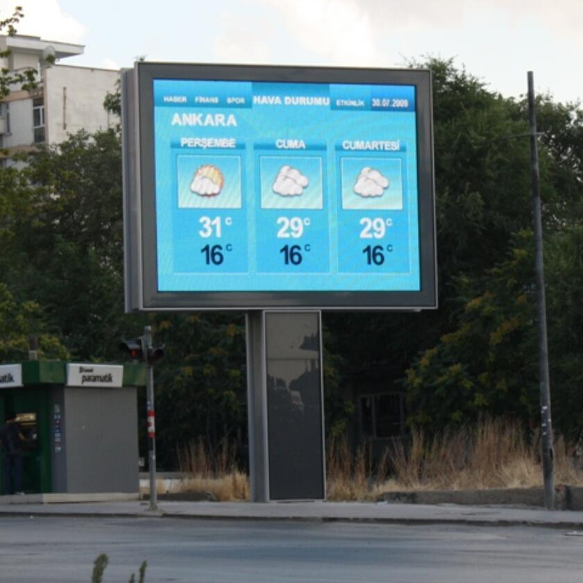 Low Power Consumption Ckgled P10 Outdoor Full Color LED Advertising Display