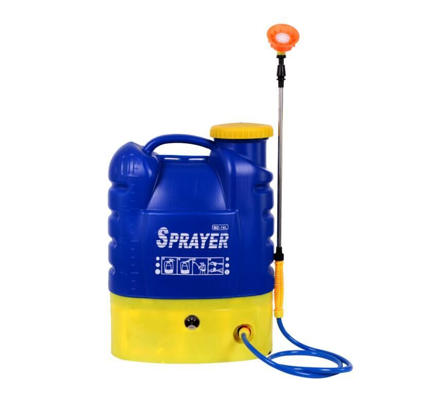 16L Plastic Agricultural Pesticide Backpack Power Electric Battery Trigger Mist Sprayer (HX-16B)