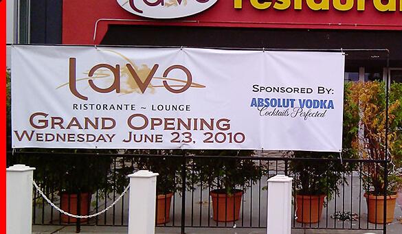 Inkjet Digital Printing Outdoor Vinyl Advertising Banners