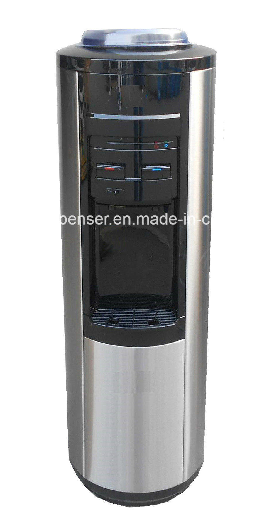 Fashionable Stainless Steel Water Cooler with Child-Safety Lock Faucet