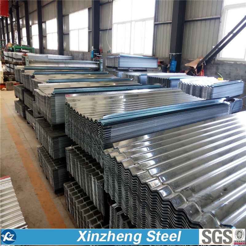 0.13mm-6.0mm Galvanzied Steel Roofing Sheet, Galvanized Corrugated Roofing Sheet