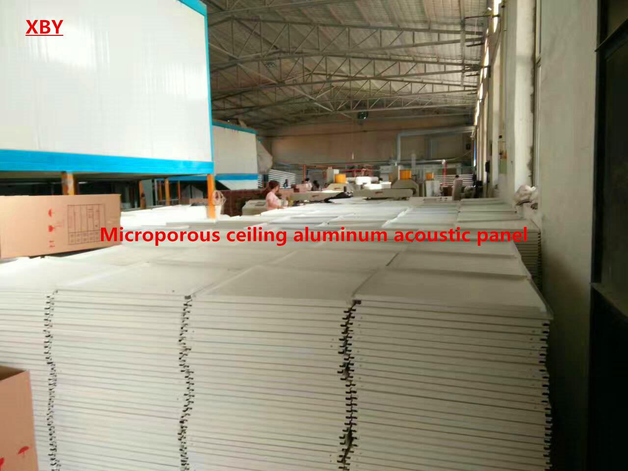 Microporous Ceiling Aluminum Acoustic Panel Decoration Ceiling Panel