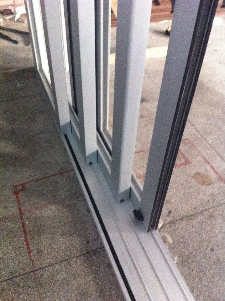 China 4 Tracks Aluminum Sliding Glass Door Mult