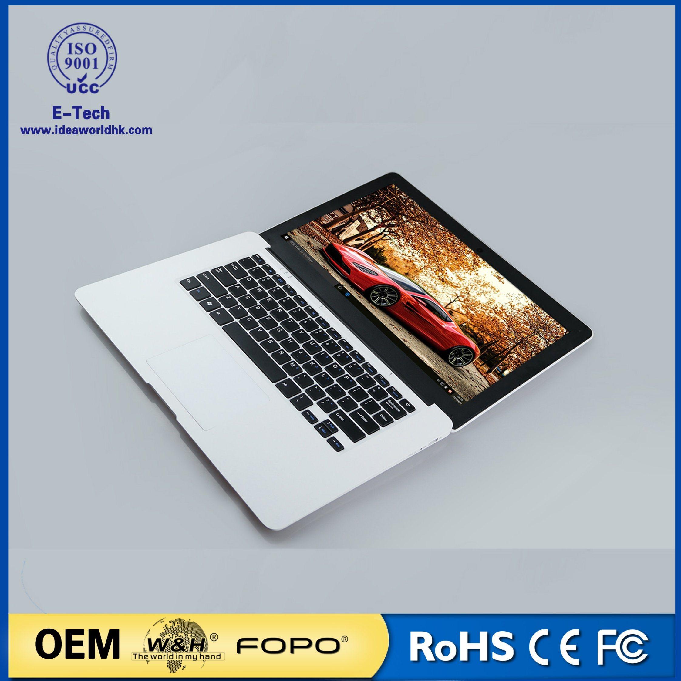 14.1 Inch Quad Core Laptop Notebook PC