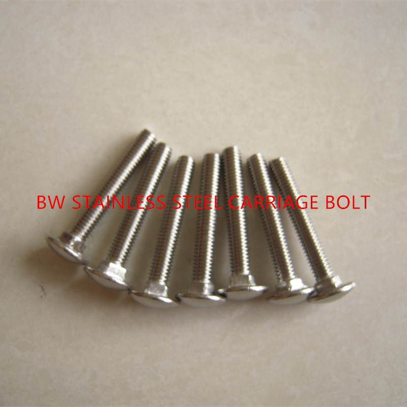 DIN603 Stainless Steel Carriage Bolt