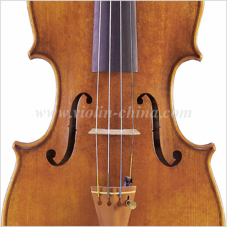 Stradivari 1715 Model Violin Solo Violin High Grade Antique Model Violin