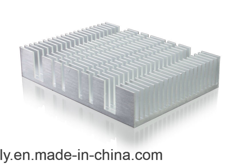 6063 Custom Extruded Aluminum Heat Sink