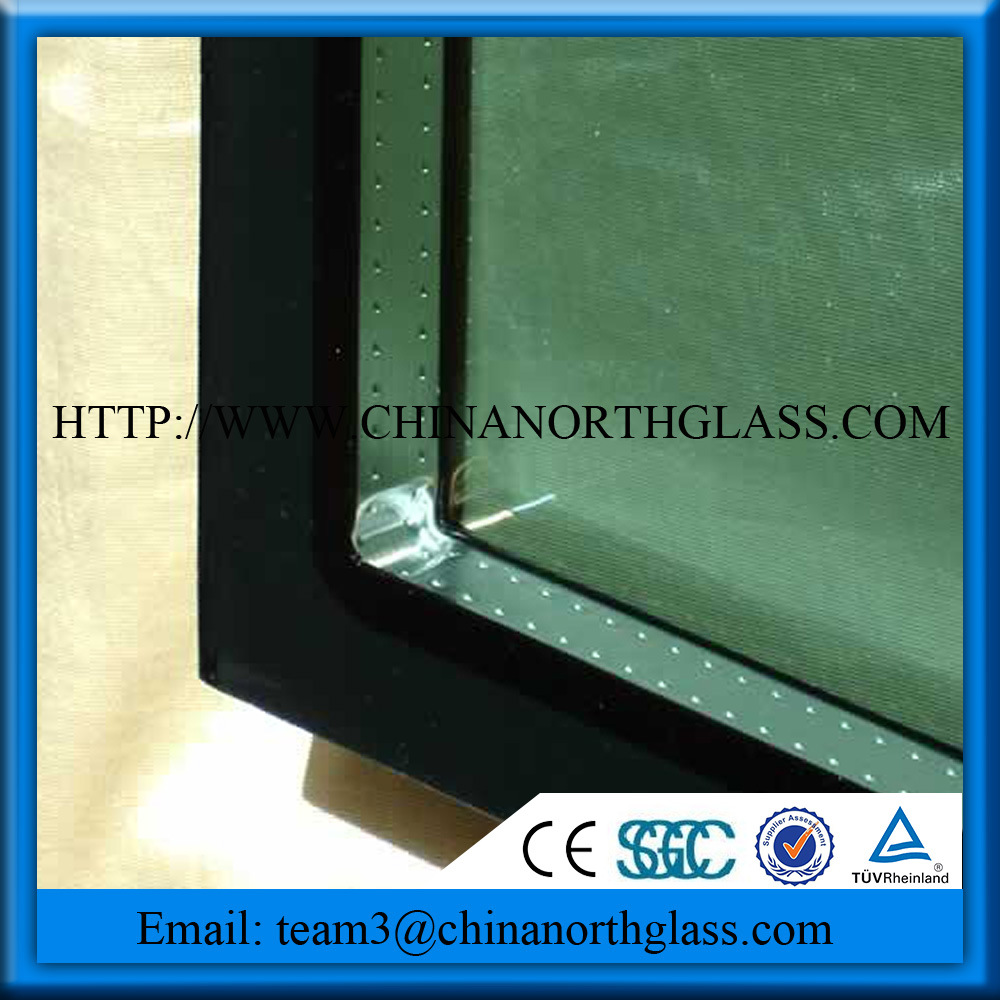 Hollow Glass (Clear/Tinted/Reflective/Tempered/Laminated/Argon/Low-E, Factory Price, High Quality