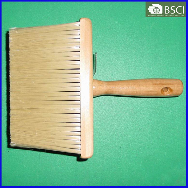 731-P-W Pet Filament Ceiling Brush with Wooden Handle, Paint Brush