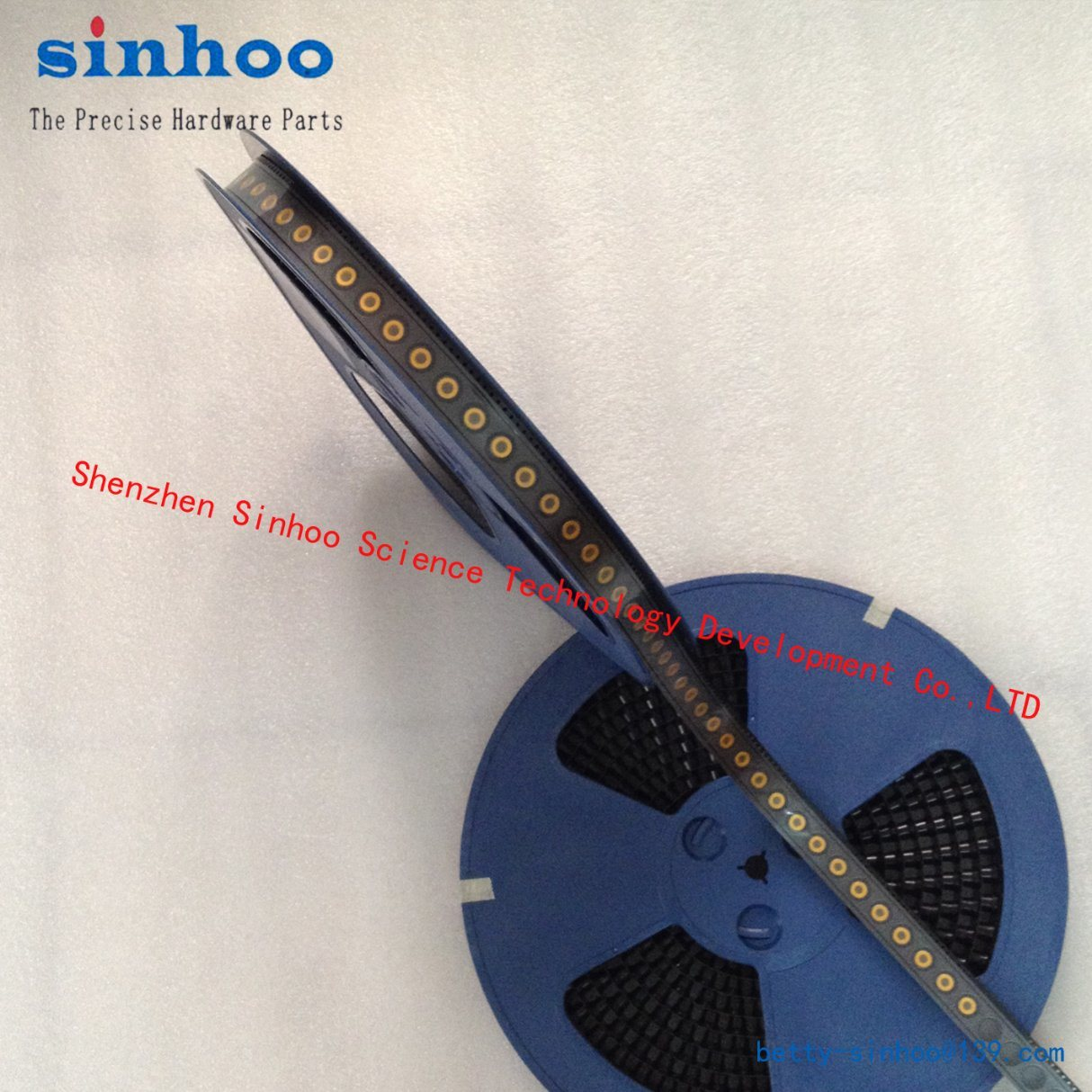 Smtso-M3-8et, SMD Nut, Surface Mount Fasteners SMT Standoff, SMT Spacer, Reel Package, Stock, Steel,