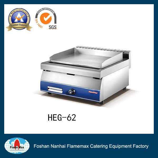Stainles Steel Electric Grill Machine/ Industrial Griddle/ Commercial Griddle (HEG-62)