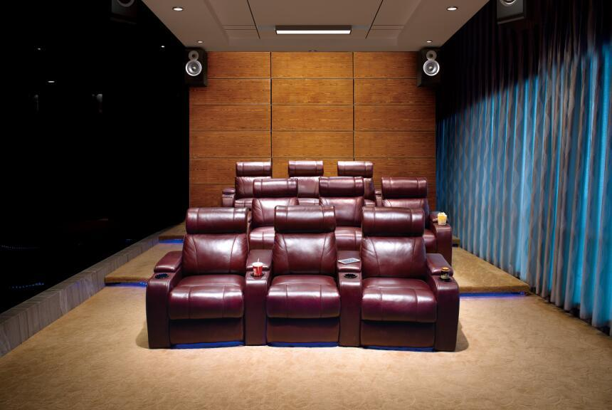 Colorful Massage Chair for Home Cinema and Theater