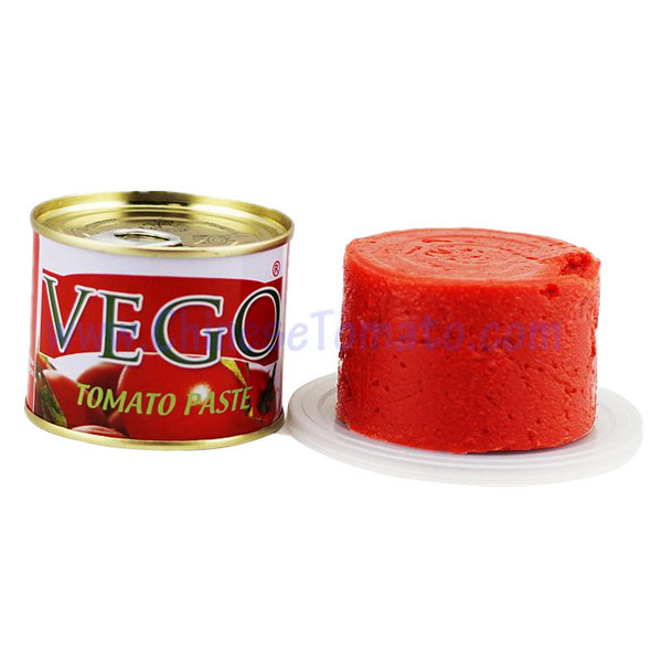 Canned Tomato Paste 28-30% Brix for Togo