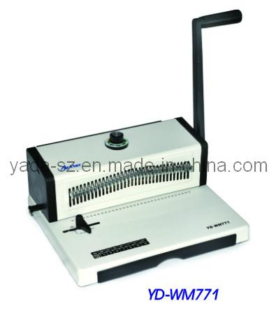 Double Wire Binding Machine (YD-WM771)