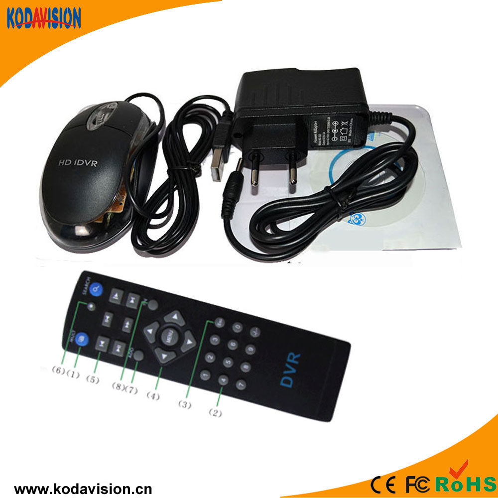 """4CH H. 264 Combo Standalone CCTV DVR with 10"""" LCD Monitor"""
