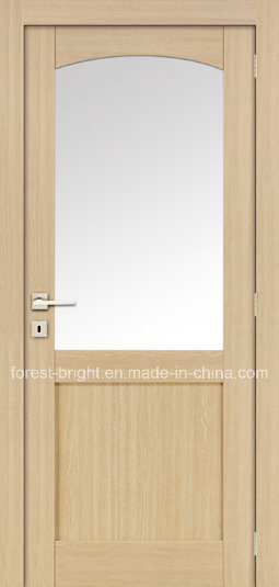 Interior MDF Door with Round Arch Glass