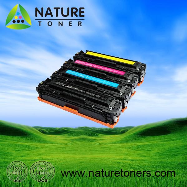 Color Toner Cartridge CB540A-3A/CE320A/CF210-3A Universal for HP Printer