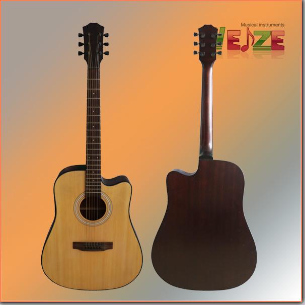 41inch Spruce Sapele Folk Guitar