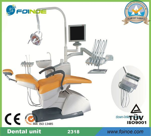 S2318 Best Selling Top Quality CE and FDA Approved Dental Chair Sale
