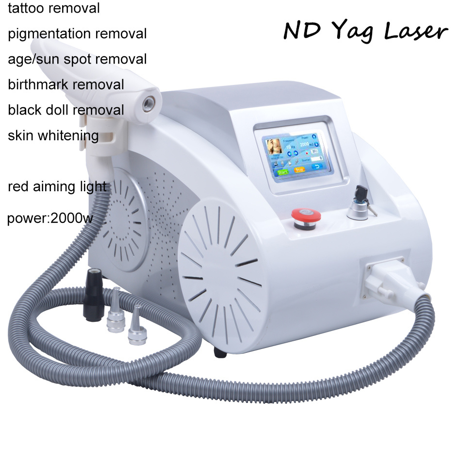 ND YAG Laser Tattoo Removal Machine Beauty Salon Equipment Price