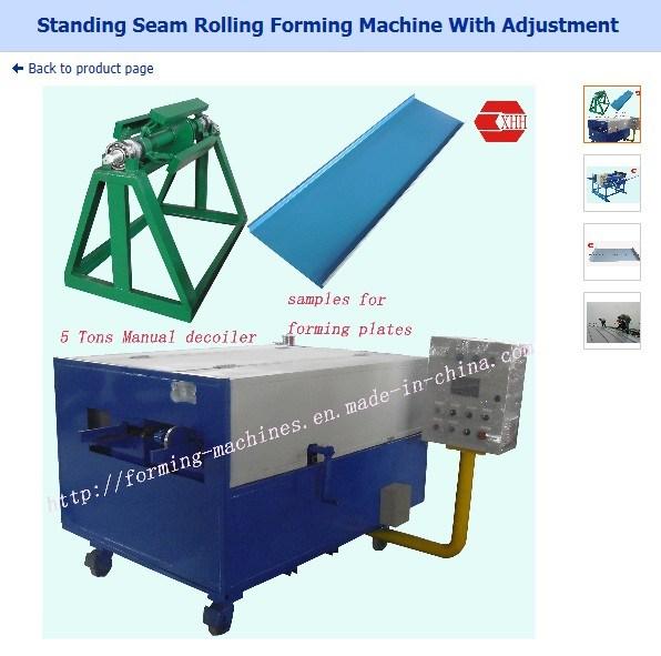 standing seam roof panel machine