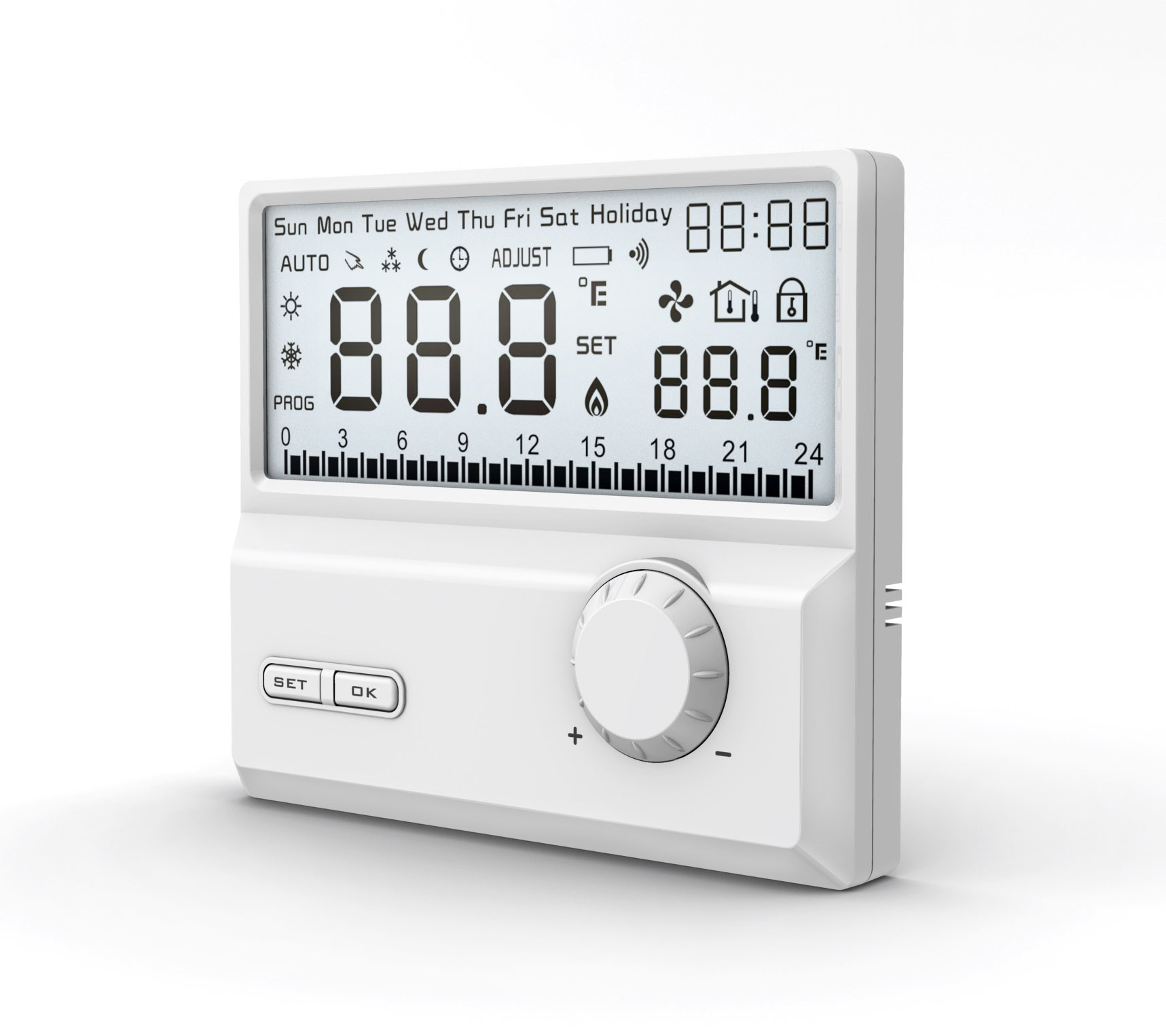 Digital Thermostat China Digital Thermostat Programmable Thermostat #60666B
