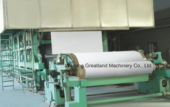 Culture Paper Machine for White Paper, Print Paper, Newspaper