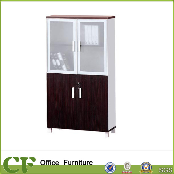 Customized Office Furniture Cabinet Glass/Wood Door Filing Cabinet