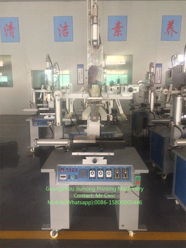 Semi-Auto Round Plate Hot Stamping Machine for Bottle