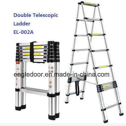 Double Aluminum Telescopic Ladder (EL-002A)