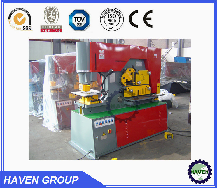 Q35 Y Hydraulic Iron Worker hydraulic Combined Punching and Shearing Machine with Notching