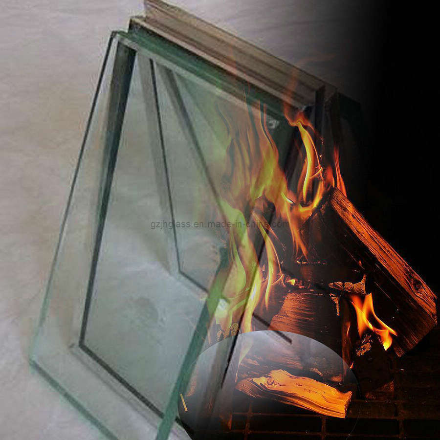 China 26mm Complex Fire Rated And Heat Resistant Glass 60mins China Complex Fire Rated And