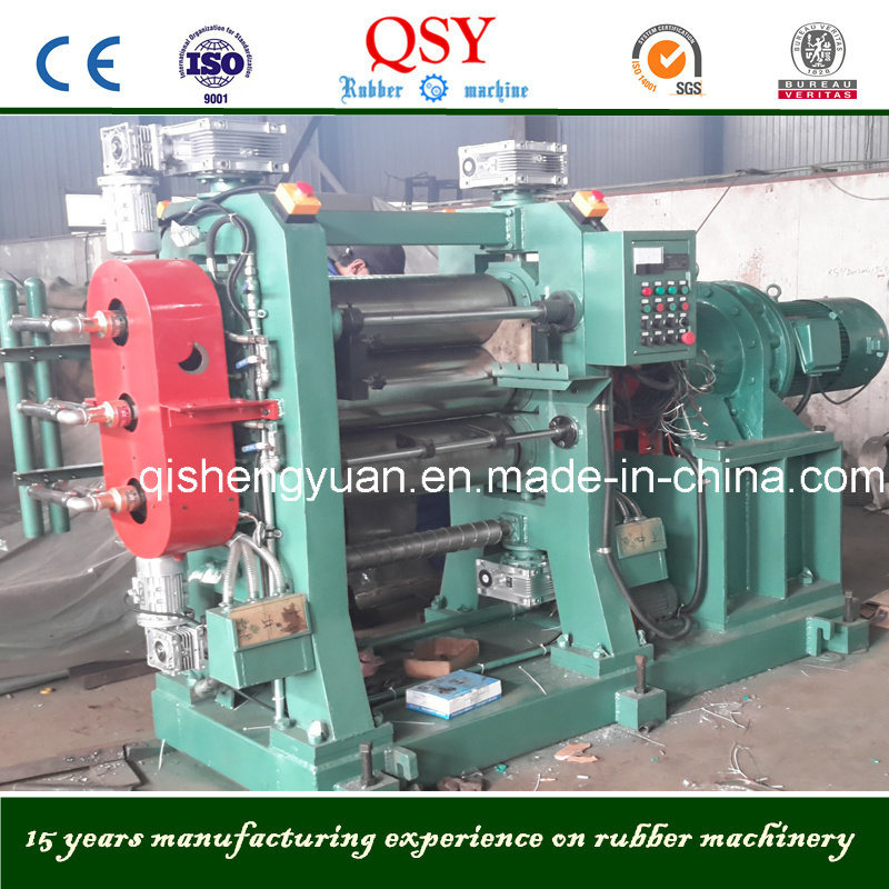 3 Rolls Rubber Calender & 16 Inch Three Roller Rubber Calender Machine
