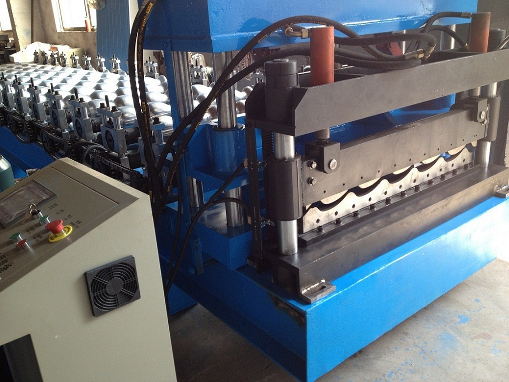 Roll Forming Machine for Making Roof Tile