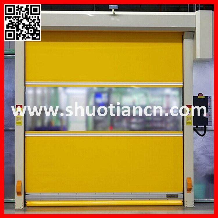 Automatic PVC Fast Roller Door, Fast Rolling Door (ST-001)
