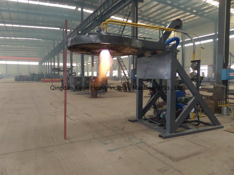 New and Free Design Ladle Preheater in V Method Casting Line