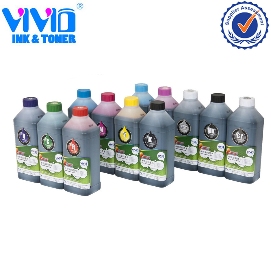 Dye Inkjet Water Based Printing Thermal Foam Ink for HP (C)