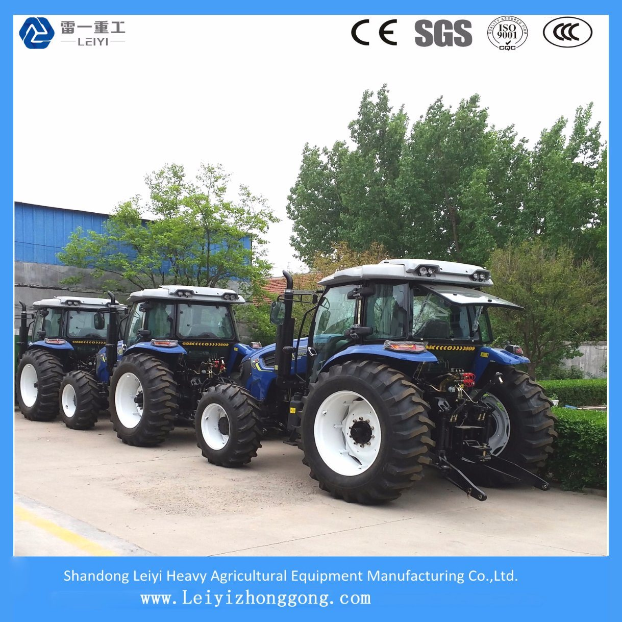 Supplying Multiple Agricultural Farming Tractor 140HP/155HP with 4WD