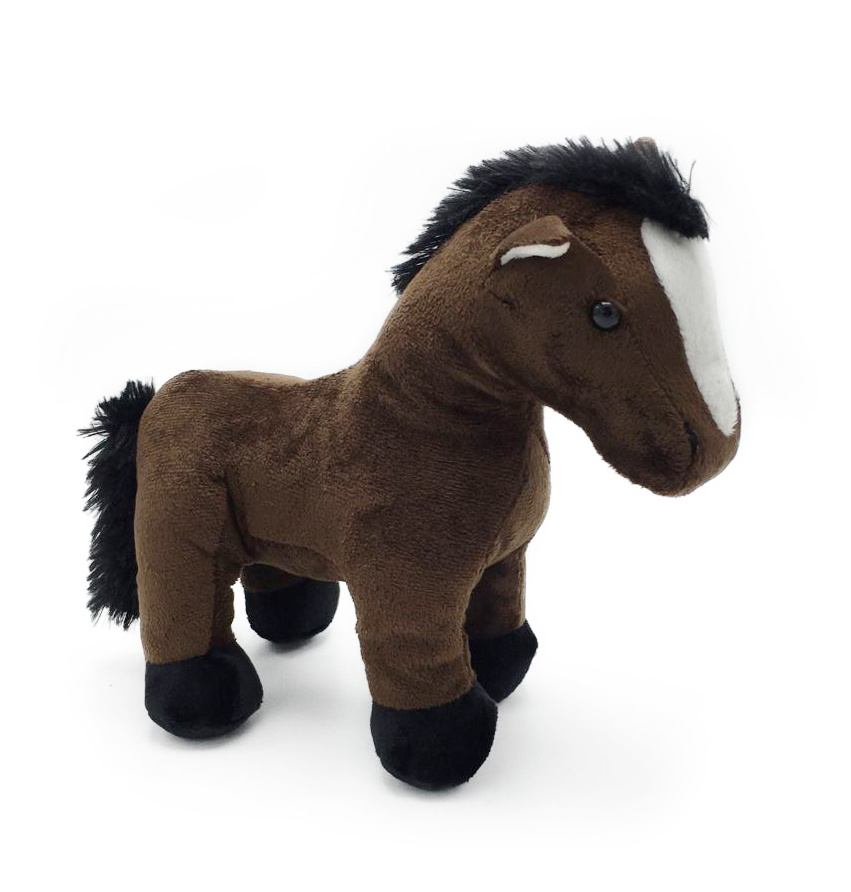 Custom Made Super Soft Stuffed Toy Plush Horse