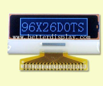 16X2 Va Liquid Crystal Display Y-G LED Backlight