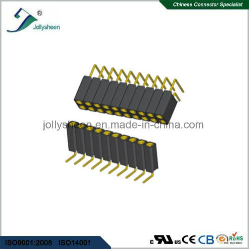 Machine Female Herader 1.27mm SMT Type H3.8mm Connector