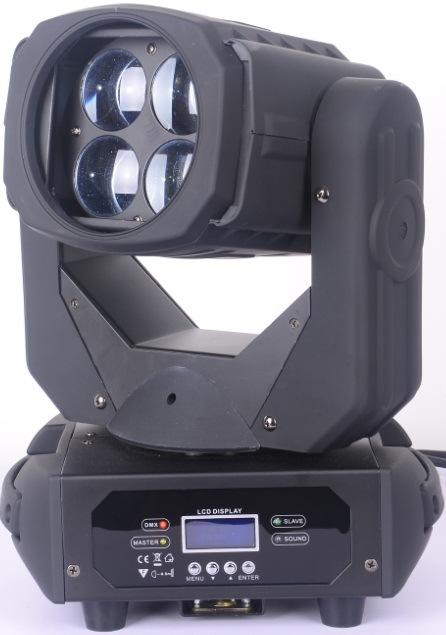4X25W LED Compact Super Beam Pixel Moving Head Light