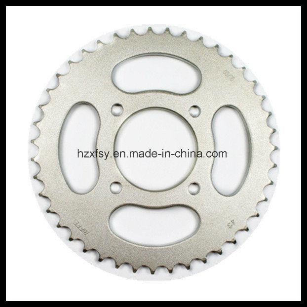 for Suzuki Katana 125 Sprocket 43t+14t 45mn Motorcycle Chain Sprocket