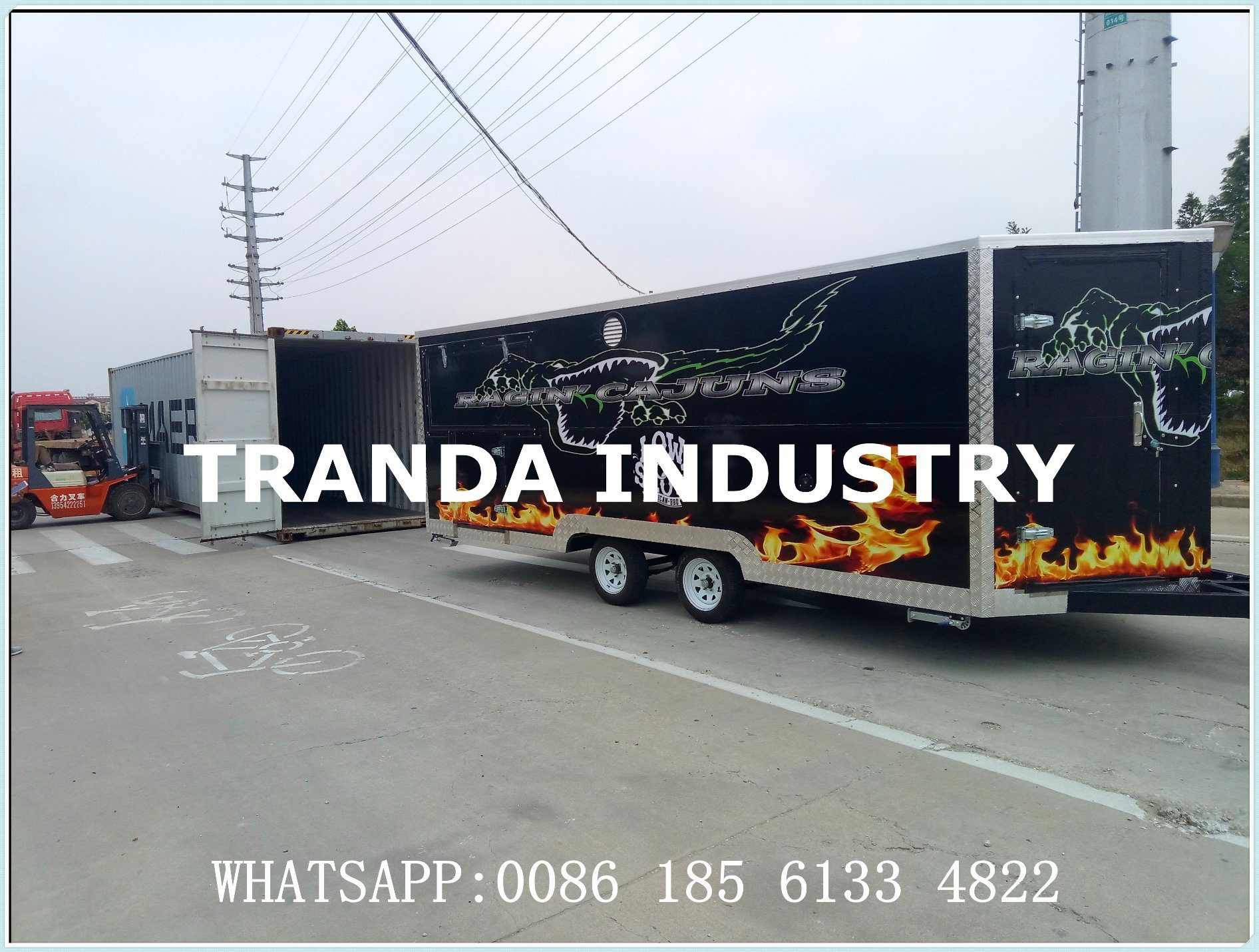 Customs Catering Fast Delivery Food Mobile Kitchen Street Food Truck Mobile Food Trailer