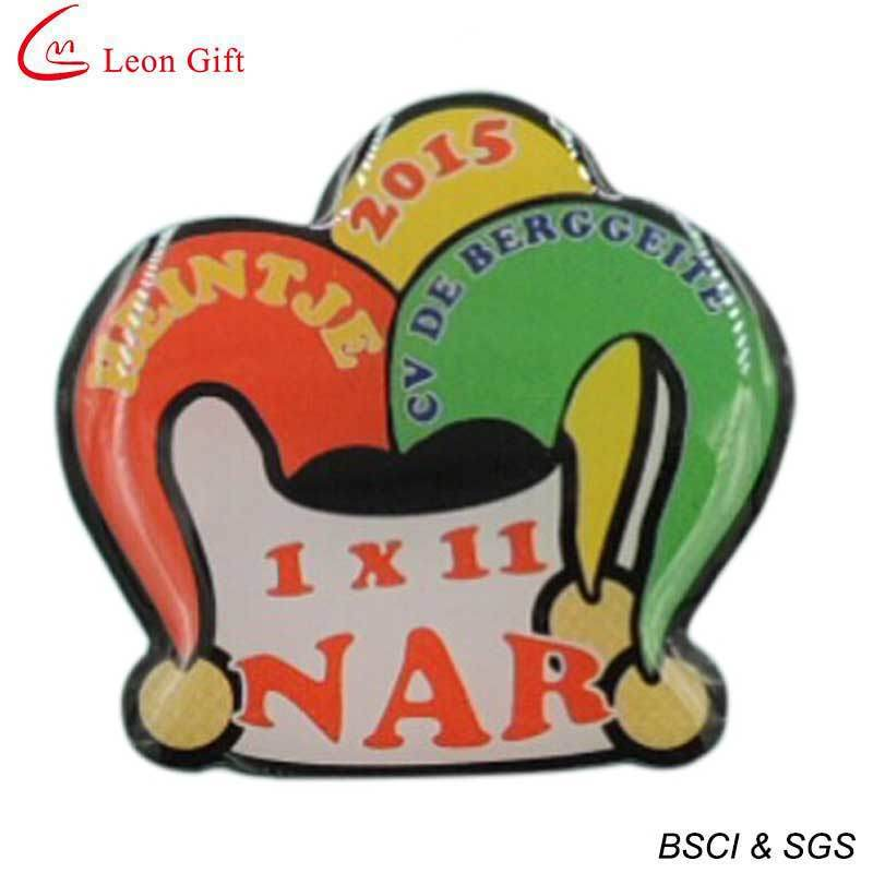 Custom Logo Offset Print Lapel Pin (LM1044)