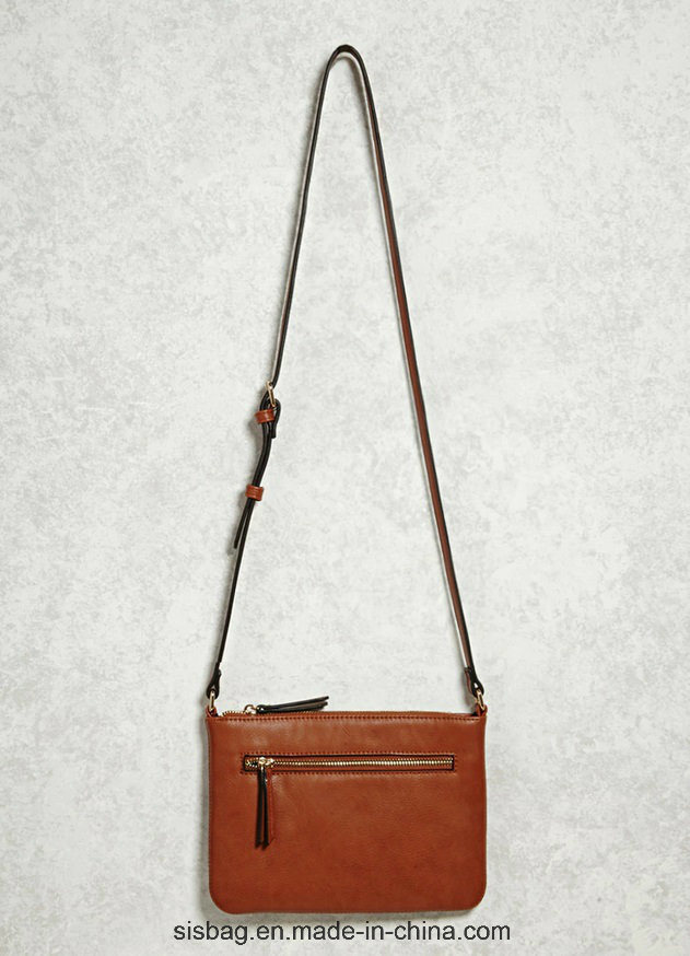 New Designer Tan Color Shoulder Bag Zip Crossbody Bag