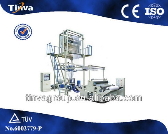 Die-Head Rotary Plastic PE Film Blowing Machine (SJ Series)